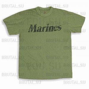 "Футболка ""Marines"" Rothco супер"