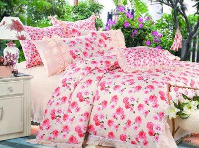 Виотекс Нежные объятья вашей постели. — Постельное белье Поплин Рюша — Двуспальные и евро комплекты