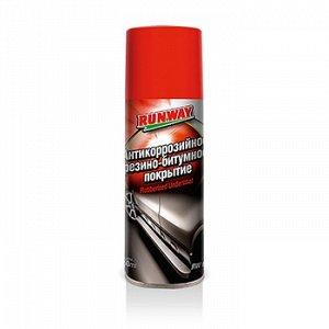 """Антикор """"Runway"""" Резино-битумное покрытие, аэроз. 450ml"""