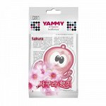 "Ароматизатор подвес. ""Yammy"" картон с пропиткой Осьминог ""Sakura"""