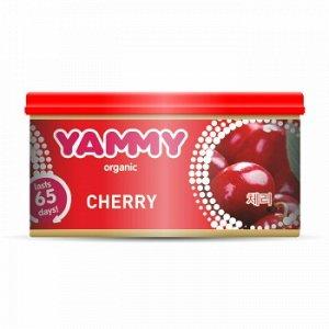 "Ароматизатор с растит. наполнителем ""Yammy"", Органик, баночка ""Cherry"" 42 гр."