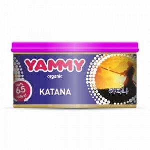 "Ароматизатор с растит. наполнителем ""Yammy"", Органик, баночка ""Katana ""42 гр."