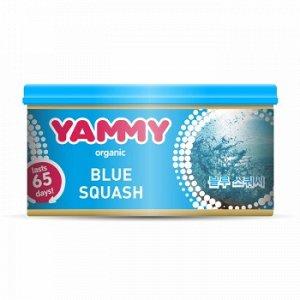 "Ароматизатор с растит. наполнителем ""Yammy"", Органик, баночка ""Blue Squash"" 42 гр."