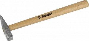 ЗУБР 200 г молоток слесарный с деревянной рукояткой