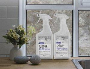 Натуральное экологически безопасное многоцелевое чистящее средство для ванны