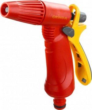 Grinda p-r Распылитель GRINDA поливочный пластиковый, тип пистолетный, регулируемое сопло  Пистолет поливочный GRINDA 8-427361_z02, предназначен для полива растений при подключении к садовому шлангу с