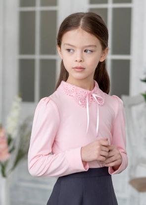 28*В школу, в садик и на праздник! Форма, банты, юбки и др — Блузки трикотажные*2 — Одежда для девочек