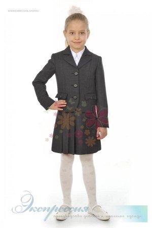 Школьный костюм тройка для девочки 271-16