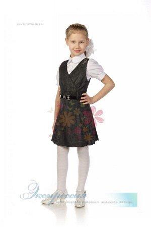 Школьный сарафан для девочки 220-13