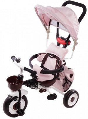 Детский 3-х колесный велосипед SLS-007 (1/1) (розовый)
