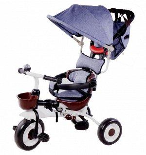Детский 3-х колесный велосипед SLS-007 (1/1) (серый)