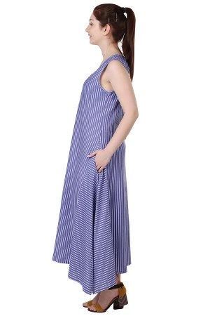 Сарафан Ультрафиолет Цвет Синий (58)