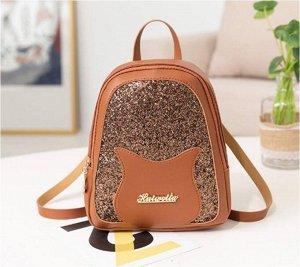 Рюкзак Рюкзак, материал: искусственная кожа. Размер: 16*6*21см.