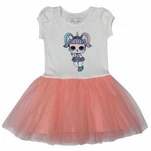 Платье цвет розовый