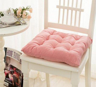 🌃 Акция на Матрацы! Сладкий сон! Подушки, Одеяла 💫 — Подушка на стул — Интерьер и декор