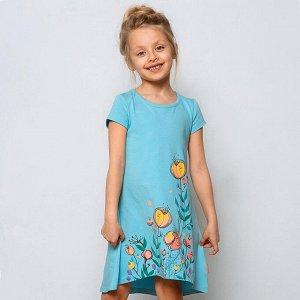 Платье Замеры модели* * рост указан приблизительно, ориентируйтесь на замеры *Размер 104(рост 104-110см)длина изделия 53 см, ширина 29 см. *Размер 110(рост 110-116см)длина изделия 55 см, ширина 30 с