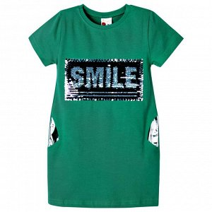 Платье Ozzylem Smile Emerald для девочки