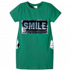 Платье Ozzylem Smile Emerald для девочки