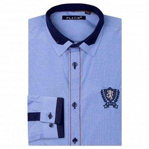 Рубашка Platin Slim fit длинный рукав для мальчика