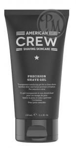 American crew precision shave gel гель для бритья 150мл габ