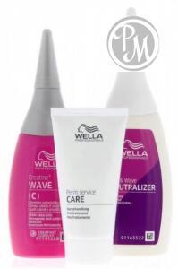 Wella creatine + wave набор для окрашенных и чувствительных волос БС