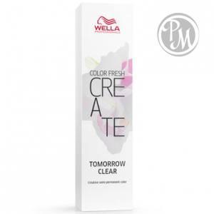 Wella color fresh create оттеночная краска tomorrow clear прозрачное завтра 60мл ^