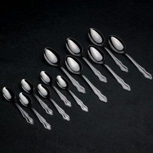 Набор столовых приборов «Славяна», 24 предмета, толщина 1,2 мм