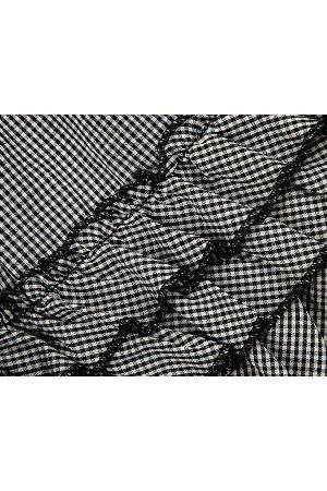 Платье (98-122см) UD 6270(1)клетка.черн