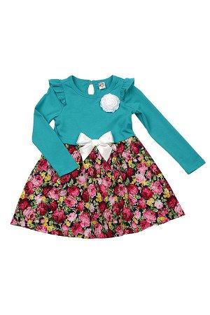 Платье, UD 2590 изумруд