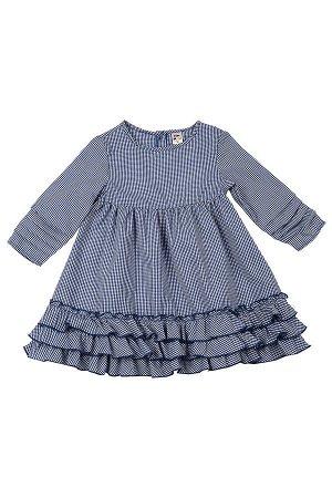Платье (98-122см) UD 6383(1)син.кл