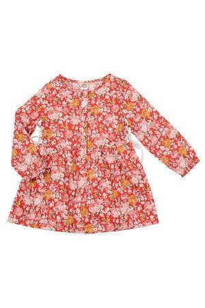 Платье (92-116см) UD 2329(1)крас цв