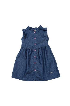 Платье UD 6464 джинс/мал