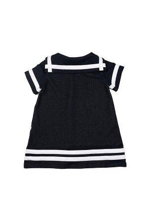 Платье с пуговкой (92-116см) UD 1215 джинс