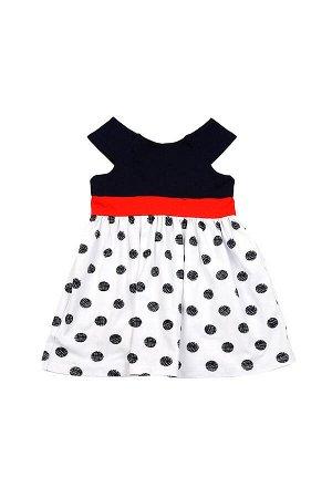 Платье в горох (98-122см) UD 1604