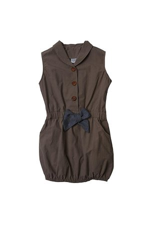 "Платье ""Сафари"" (92-116см) UD 0367(2)кофе"
