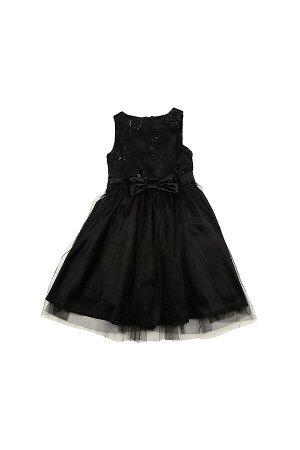 Платье (122-146см) UD 6183(1)черный