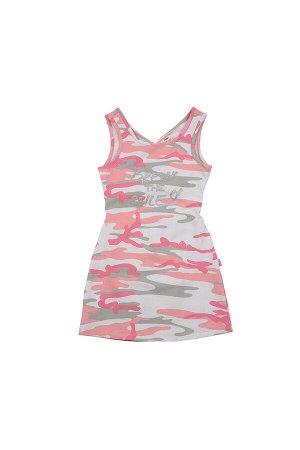 Платье (98-116см) UD 4576(1)роз камуфл