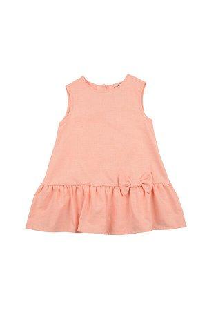 Платье (98-122см) UD 6359(2)персик