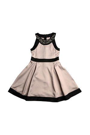 Платье (122-146см) UD 6176(1)беж