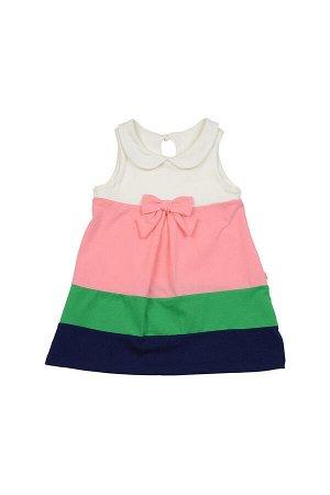 Платье с бантиком (98-122см) UD 1642 цветное
