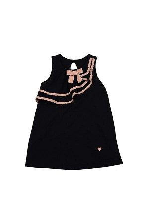 Платье оригинальное (98-122см) UD 1639(2)син/роз