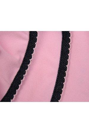 Платье оригинальное (98-122см) UD 1639(1)роз/джинс
