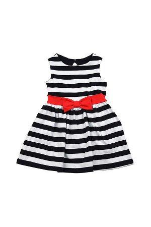 Платье с бантиком (92-116см) UD 1372(1)полоска