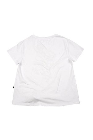 "Футболка ""Ромашка"" (152-164см) UD 5116(1)белый"