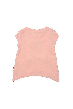 Футболка для девочки (98-122см) UD 3156(2)крем/роз