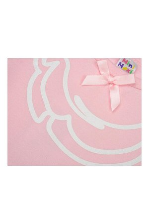 Футболка с принтом (98-122см) UD 0670(3)розовый