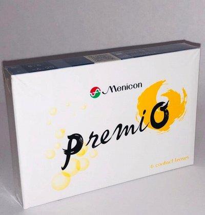 👁2-недельные и торические линзы. Произв. Япония, Menicon — 2-недельные линзы Premio — Контактные линзы