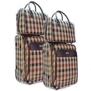 Комплект чемоданов Borgo Antico. 2093 beige (2 колеса)