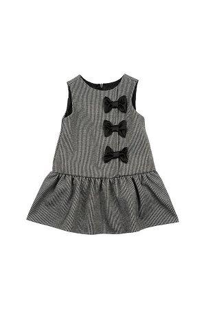 Платье (80-92см) UD 6181(1)черн клетка