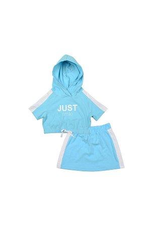 Комплект (98-122см) UD 6592/6593(1)голубой